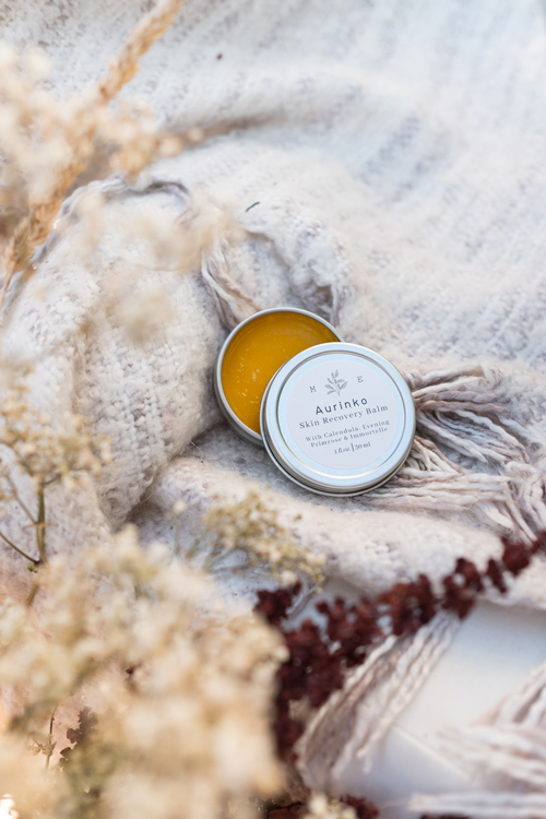 naturally made skin recovery balm by Matka on Vancouver Island Canada