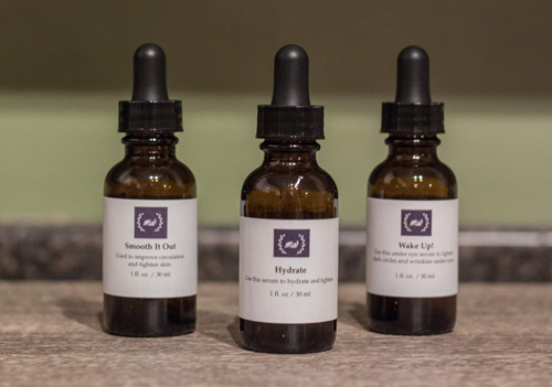 All Natural Essential Oil Skin Serum, Hydrate, Smoothing, Waking, handmade in Qualicum Beach by MWC