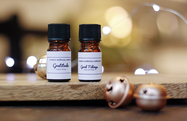 christmas scented essential oil blends, hand blended in qualicum beach vancouver island