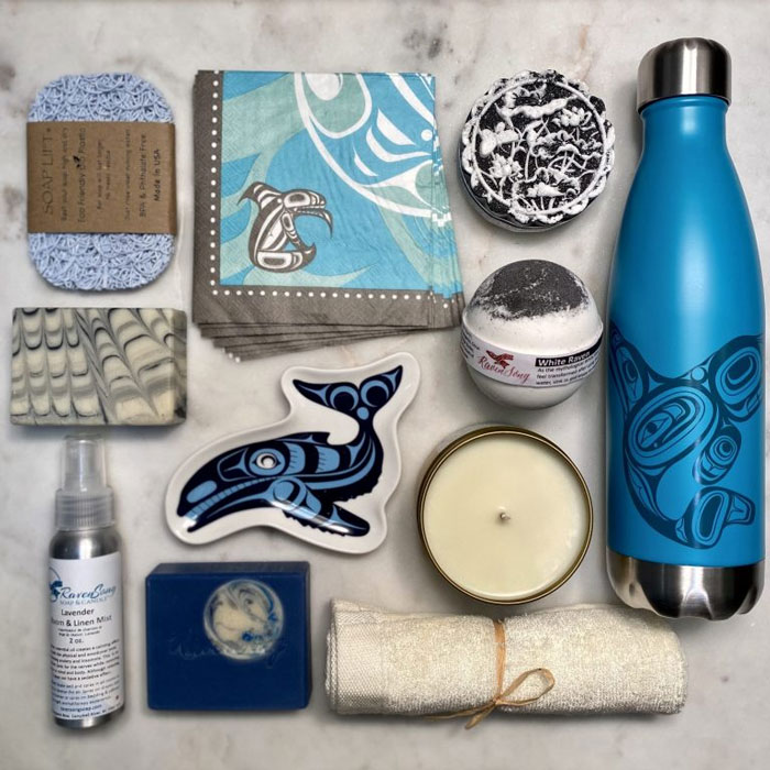 local gift box, locally made gift ideas for Christmas 2020 from Vancouver Island