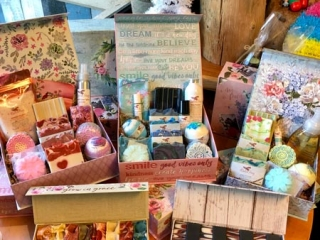 artisanal soap gift boxes from Ravensong Soap on Vancouver Island