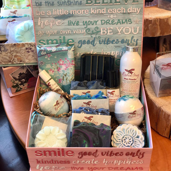 Vancouver Island made soap gift box by Ravenson Soap