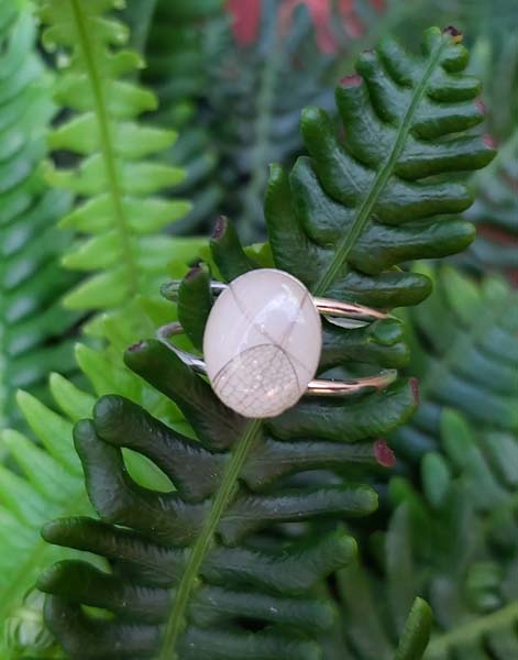 breastmilk and child's hair ring jewelry, made on Vancouver Island by Sacred Life Jewelry