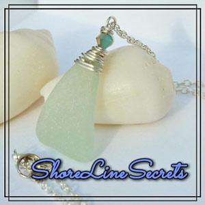 Shoreline Secrets logo - Vancouver Island seaglass jewelry