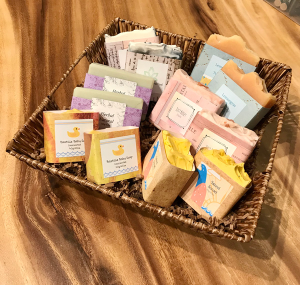 natural soaps and baby soap made on vancouver island canada