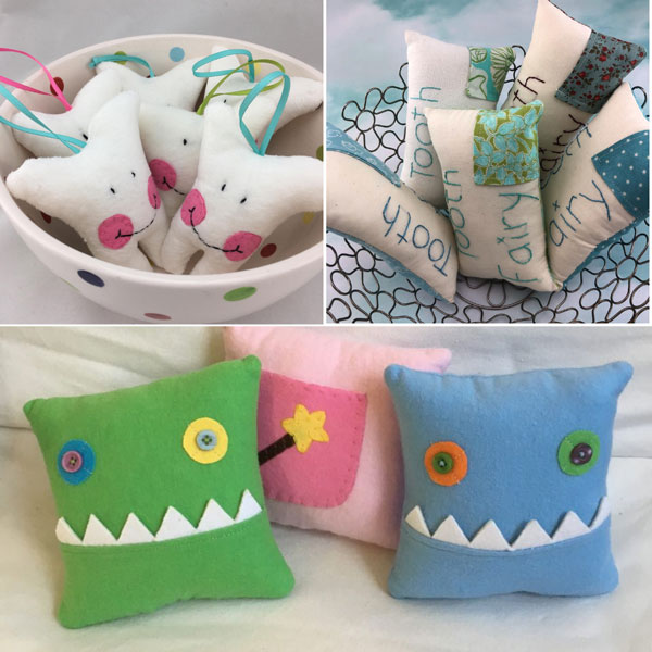 Vancouver Island made stocking stuffer tooth fairy pillow