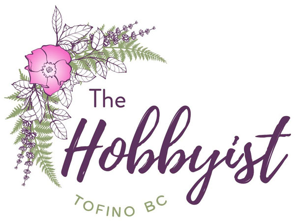 The Hobbyist logo, a B.C. small business making handcrafted home, body, and kitchen products