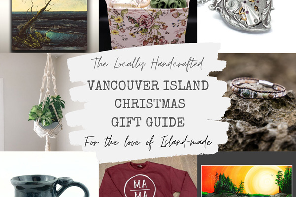 Vancouver Island made Christmas gift guide, gift ideas