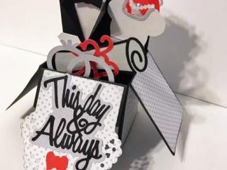 Vancouver Island made wedding cards by Crafty Island Owl
