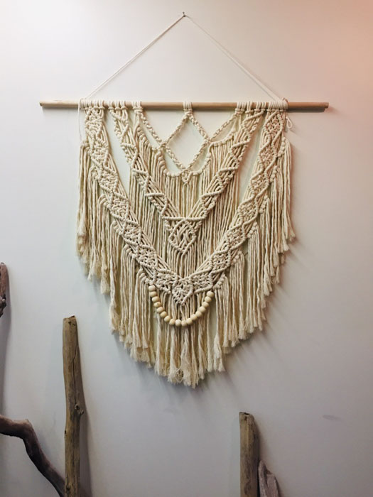 custom macrame made in Nanaimo B.C. on vancouver island by West Coast Cozy