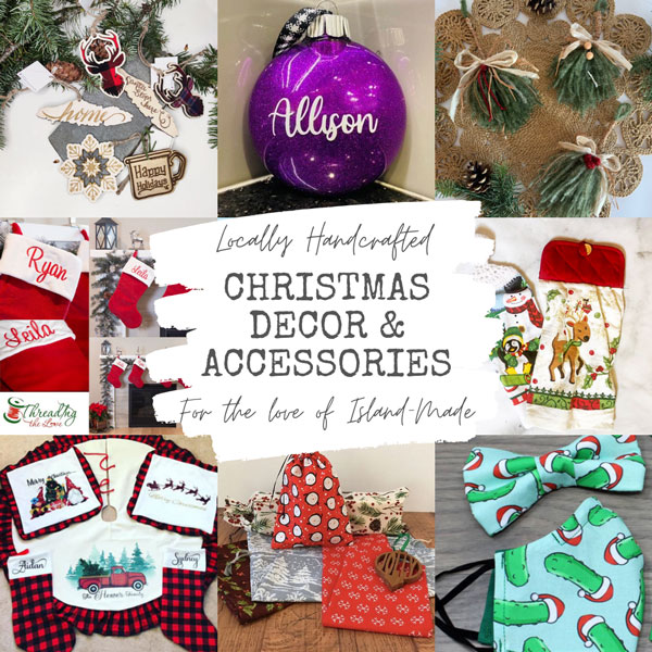 custom vancouver island made christmas decorations and ornaments